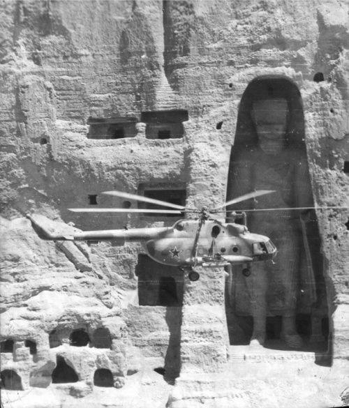 Будда и советские вертолетчики, 1980–е годы, Бамианская долина, Афганистан было, история, фото