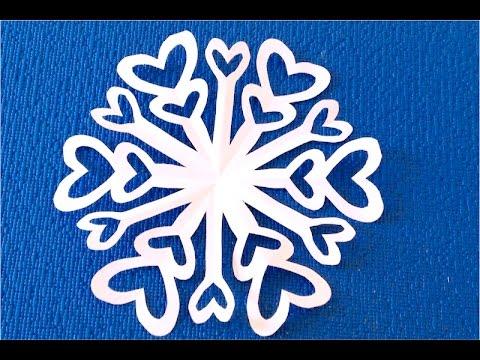 5 видео-инструкций: делаем обычные и объемные снежинки из бумаги