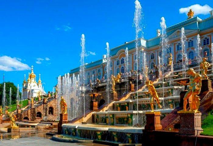 История фонтанов Петергофа