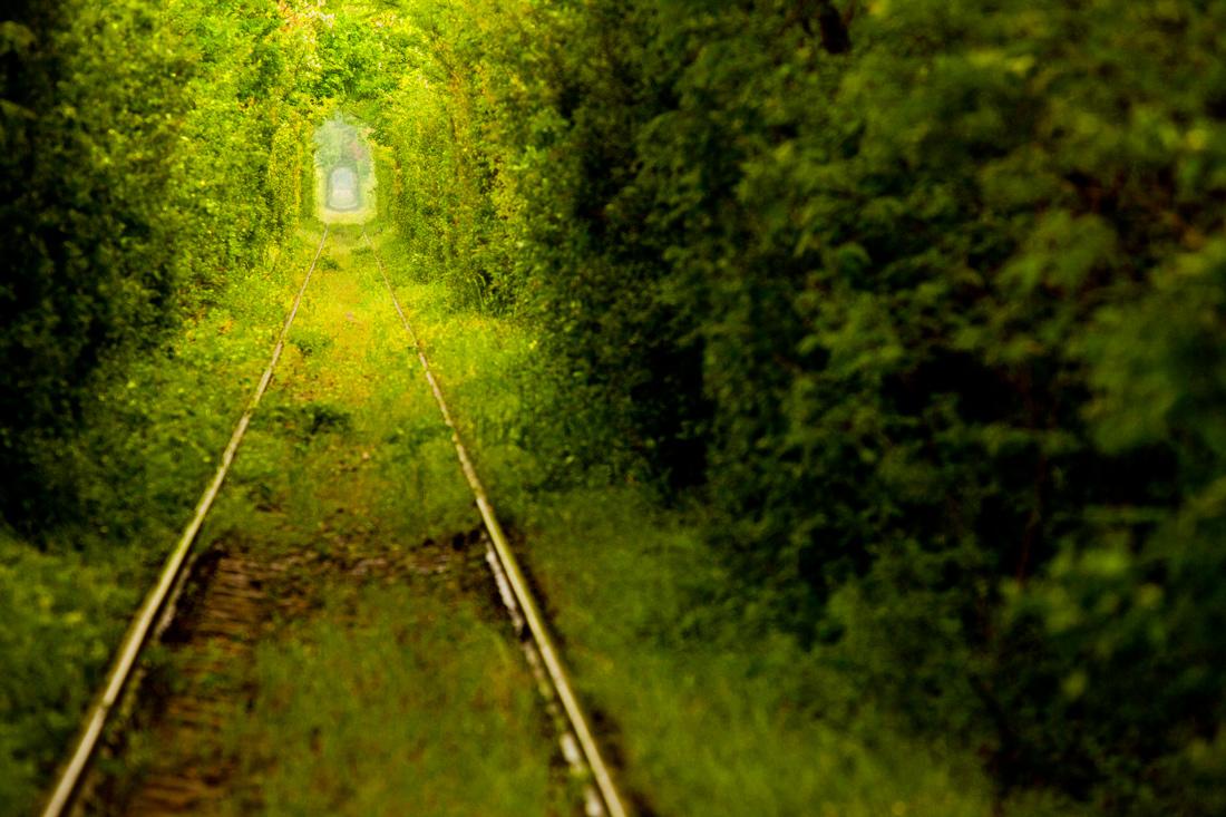 Заброшенная железная дорога, Карансебеш, Румыния