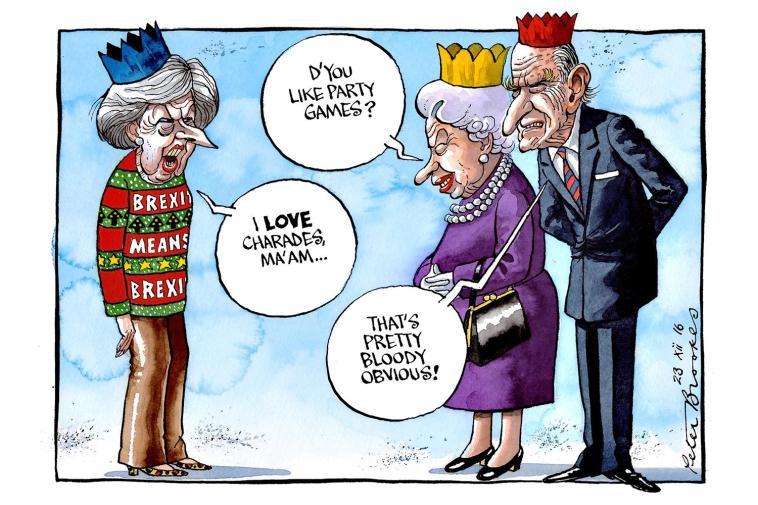 Британская политическая карикатура: Тереза Мэй и другие