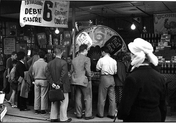 Послевоенный Париж