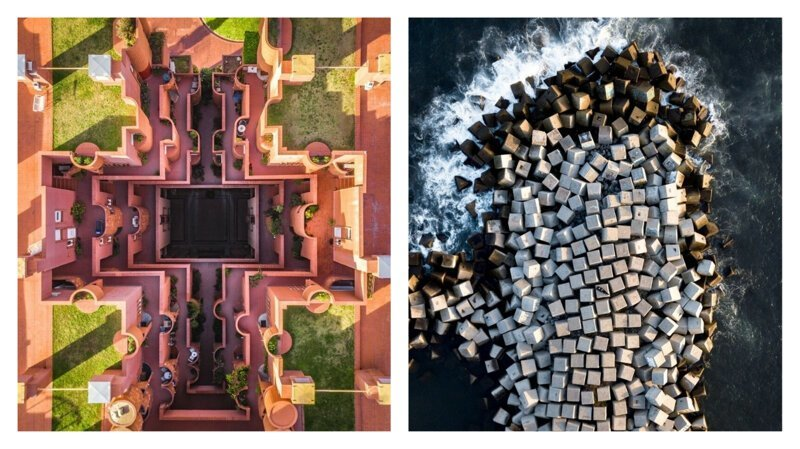 Уникальная геометрия Барселоны: вид сверху барселона, беспилотник, вид с воздуха, вид сверху, дрон-фотография, с высоты птичьего полета, фотограф, фотоискусство