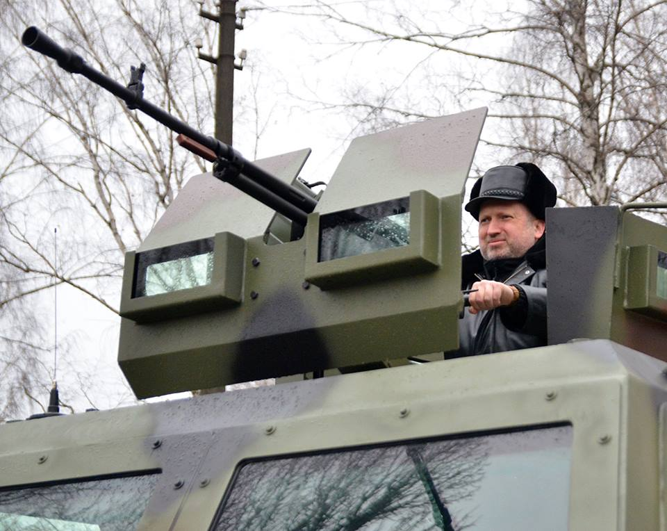 Турчинов уверен, что Украина станет ракетным щитом Европы
