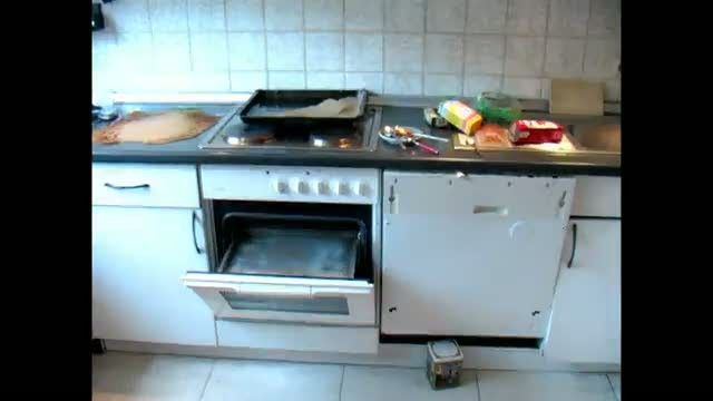 на кухне