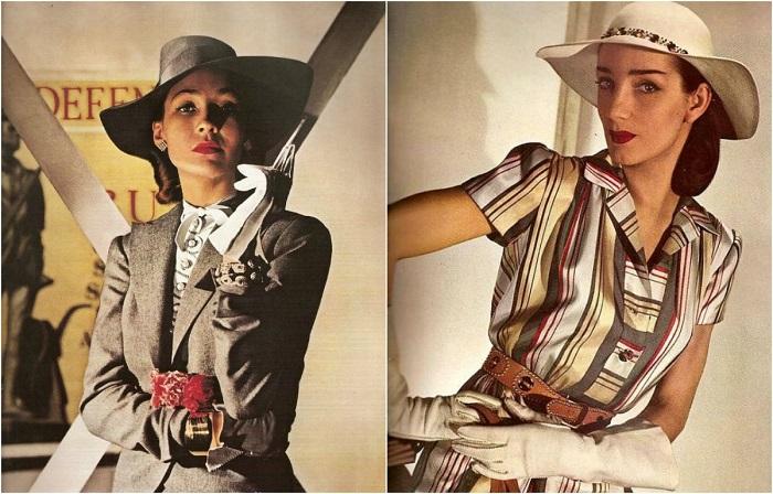 Утончённая женственность: Гламурные фотографии из женских журналов 1940-х