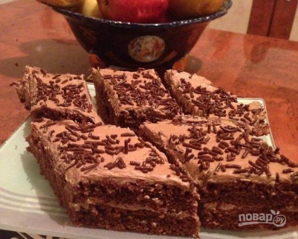 Торт «Прага» по старинному рецепту