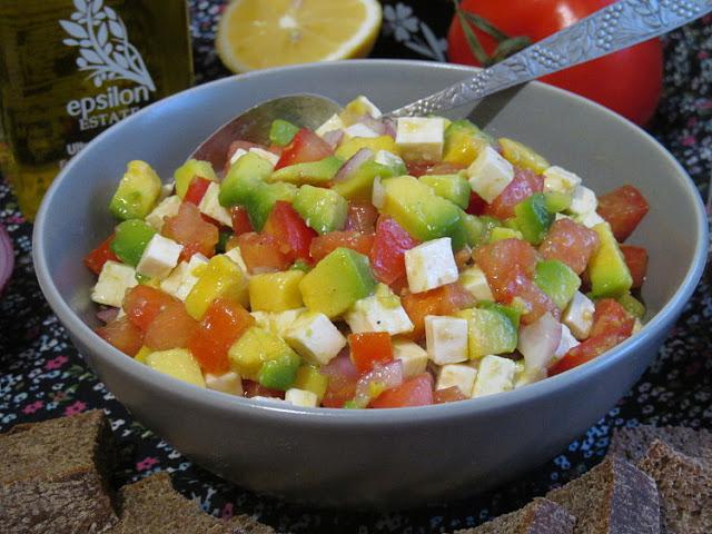 Самый вкусный салат из авокадо!