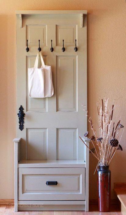 Переделываем старые двери