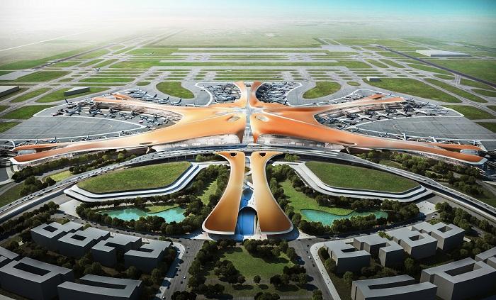 В Китае достроили гигантский аэропорт «Дасин»
