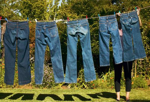 Как правильно сушить влажные джинсы, если результат нужен очень быстро?