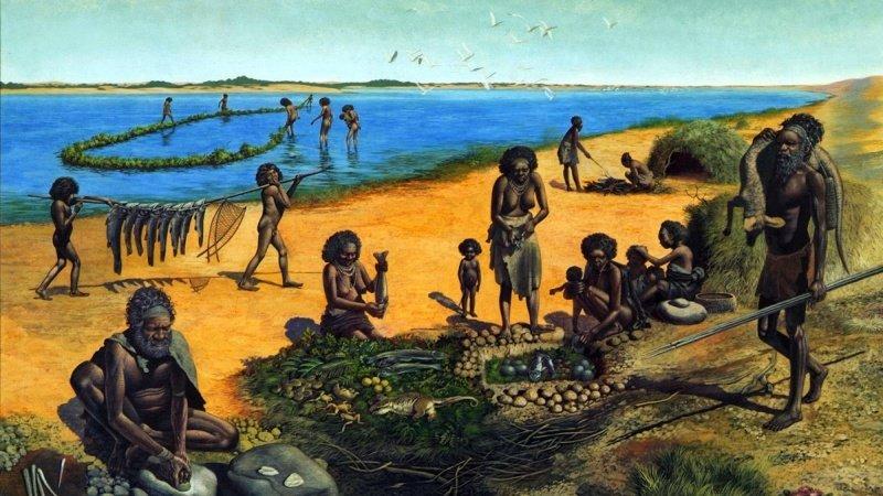 До сих пор неизвестно каким образом первые древние люди смогли колонизировать Австралию. Но по исторической значимости это открытие сравнимо с высадкой на Луну древние люди, история, факты, человечество