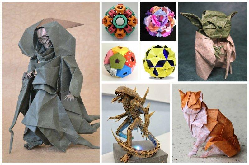 Невероятные шедевры оригами