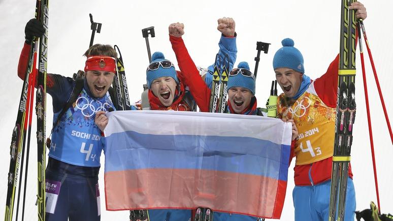 N-TV: дело против биатлонистов из России развалилось из-за нехватки доказательств