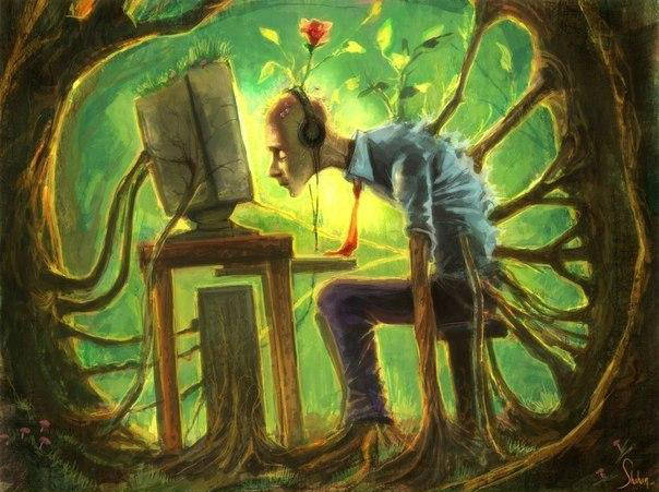 Электроника поедает биополе человека