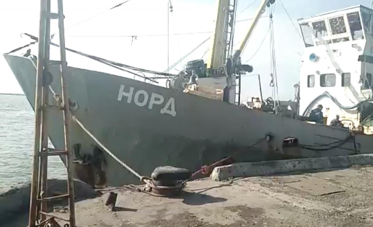 Мариупольский суд будет решать судьбу команды рыболовецкого судна «Норд»