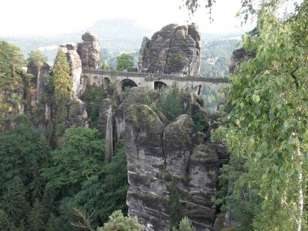 Каменный бастион Саксонии