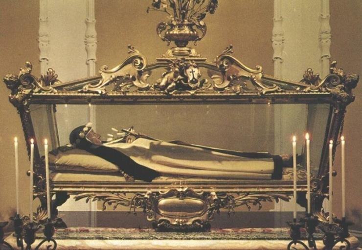 Нетленные мощи Святой Терезы Маргарет
