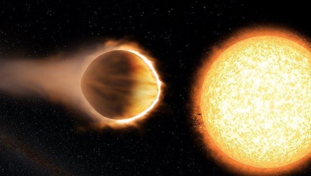 Астрономы нашли «адскую» планету, чья атмосфера может испарить железо