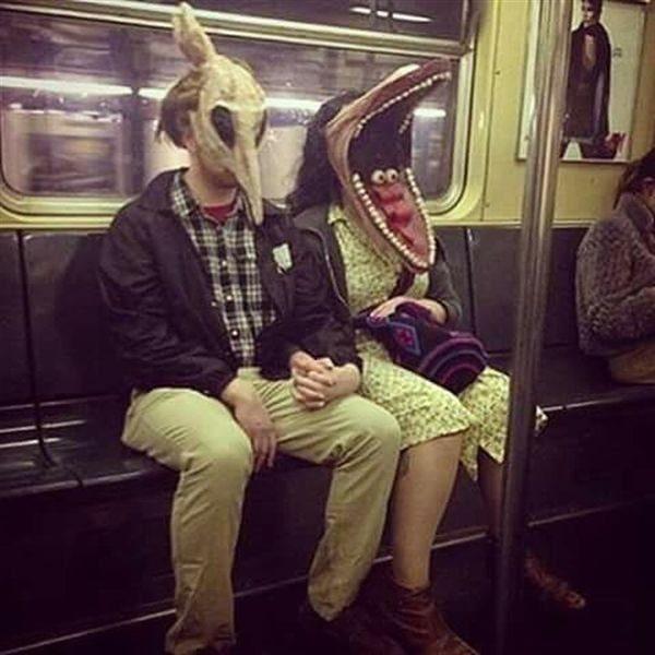 Убойная подборка фееричной метромоды!  Очень забавные персонажи!