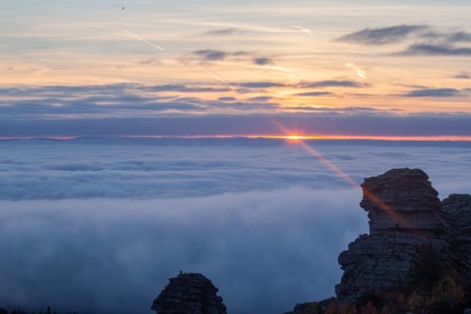 Северное сияние на Помяненном камне. (Туризм, ветлан, помяненный камень, урал, поход)