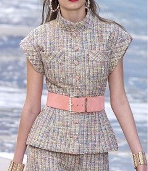 Японская блуза с коротким рукавом