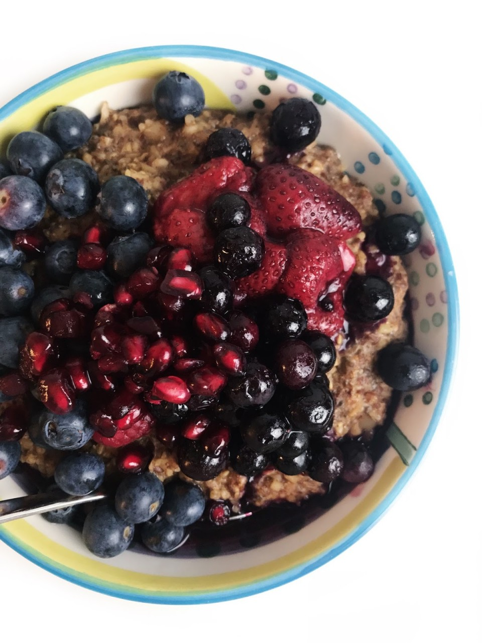 What I Eat in a Week: Oatmeal, Smoothies + French Fries