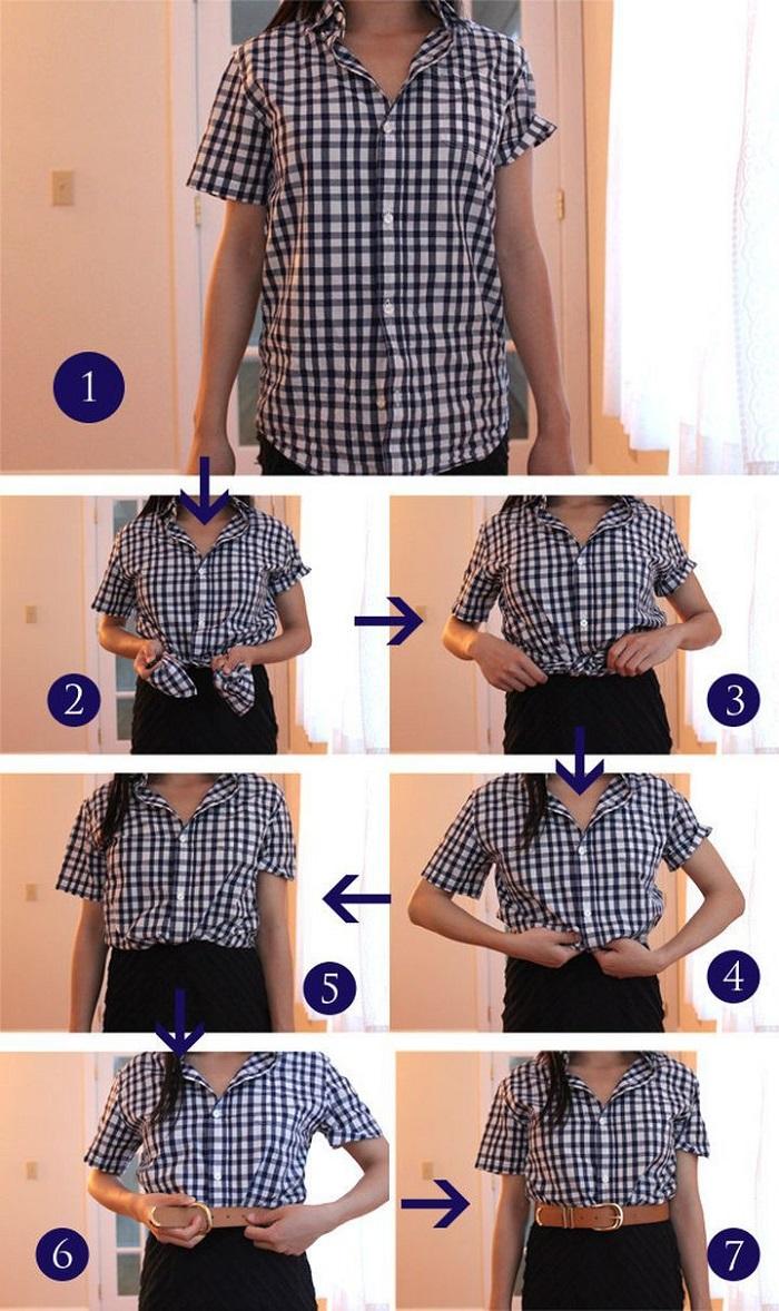 как носить рубашку