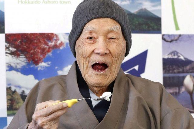 Книга рекордов Гиннеса признала старейшим мужчиной Земли 112-летнего японца