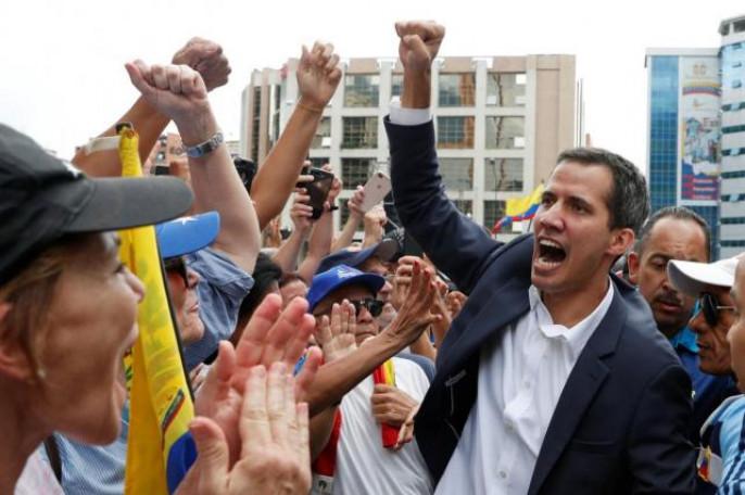 Украина признала Гуайдо през…