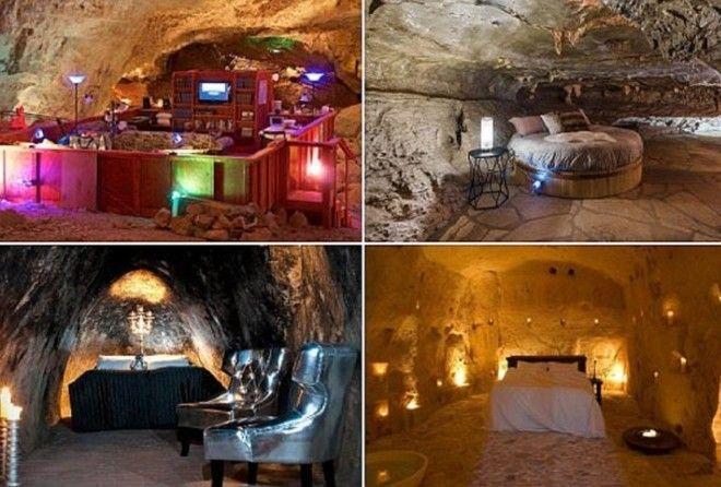 Самые невероятные пещерные отели мира