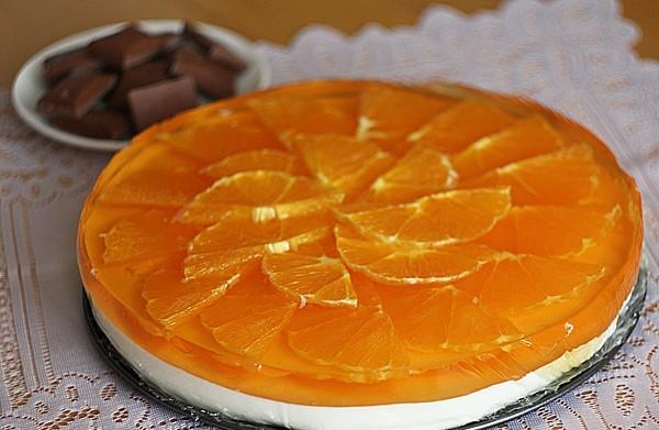 Тортик «Оранжевое настроение»
