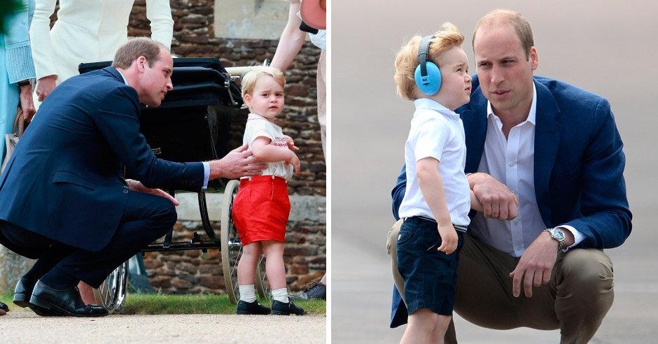 Принц Уильям вслед за супругой Кейт всегда старается видеть мир глазами своих детей