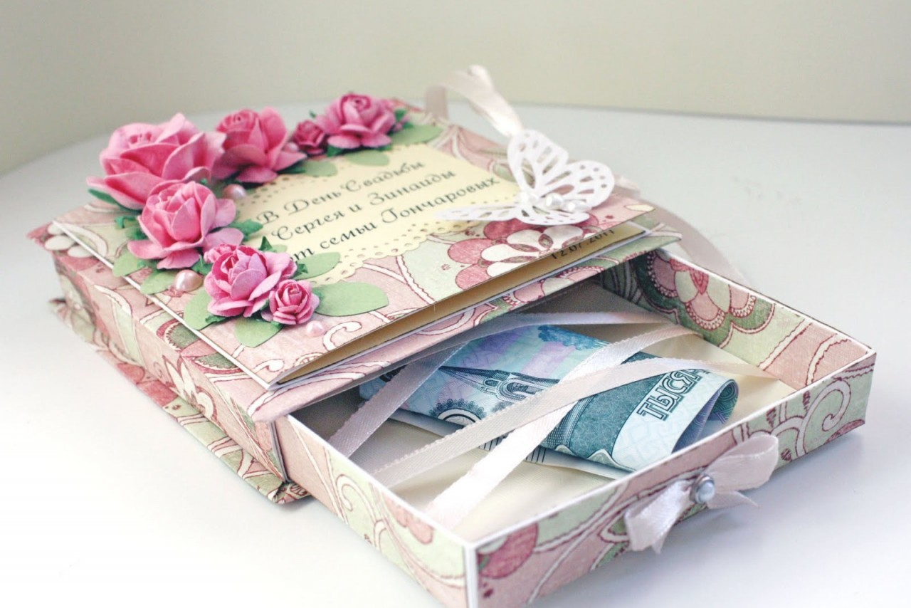 Подарки на свадьбу креативные