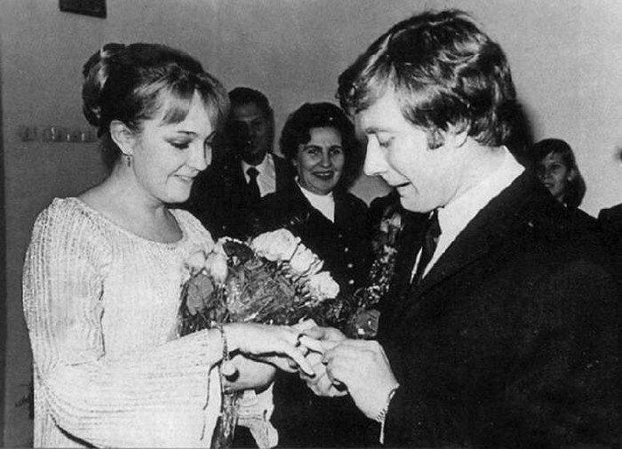 Редкие свадебные фото советских и российских звезд