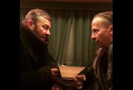 Шарий и Охлобыстин вступили в дискуссию о видеороликах про Зеленского