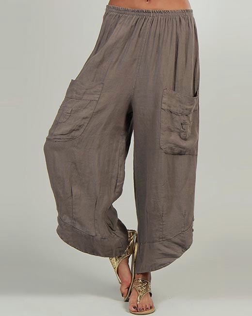 Сшить брюки в стиле бохо своими руками 68