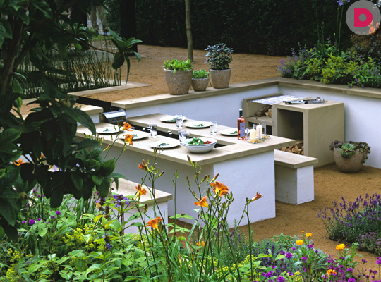 Садовое барбекю: как построить своими руками
