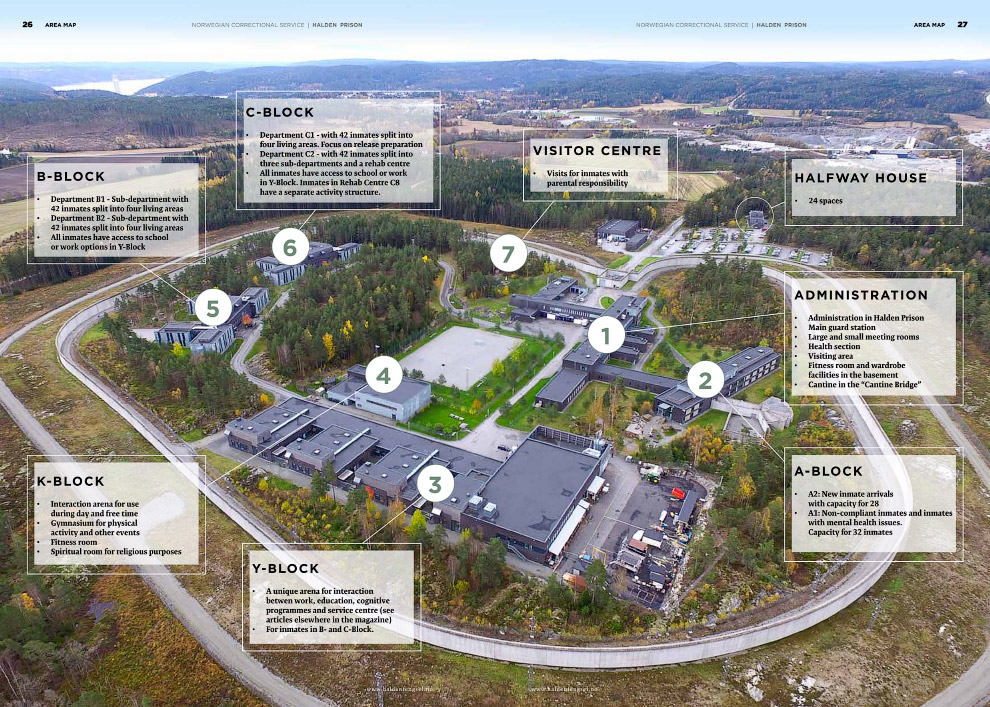 Как выглядит самая гуманная тюрьма в мире