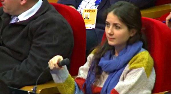 Мария Захарова западной журналистке: «не надо глаза закатывать, учитесь смотреть правде в глаза»