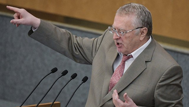 Жириновский предложил сменить главу МИД РФ