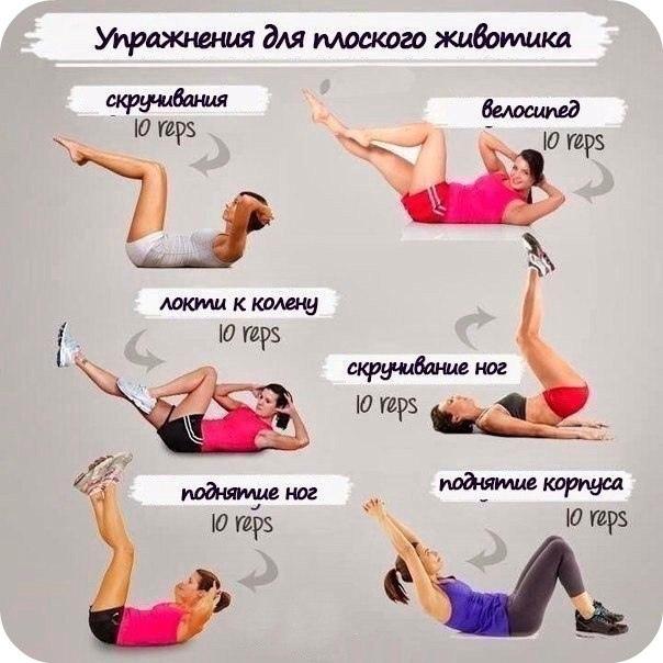 Лучшие упражнения для себя любимой