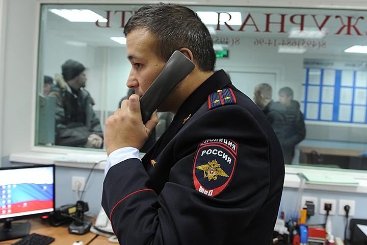 В Москве неизвестный брызнул в лицо полицейскому из газового баллончика