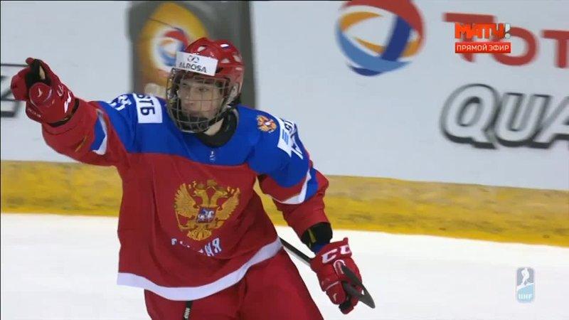 Россия (U-18) - Словакия (U-18). Серия буллитов