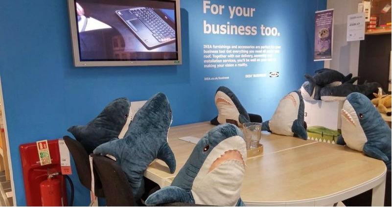Почему весь мир так любит акул из ИКЕА