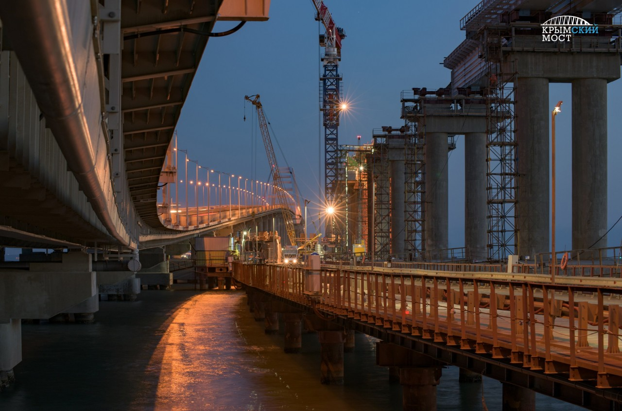 Неужели вероятность оползней не учли: на Украине обнаружили новую «проблему» Крымского моста
