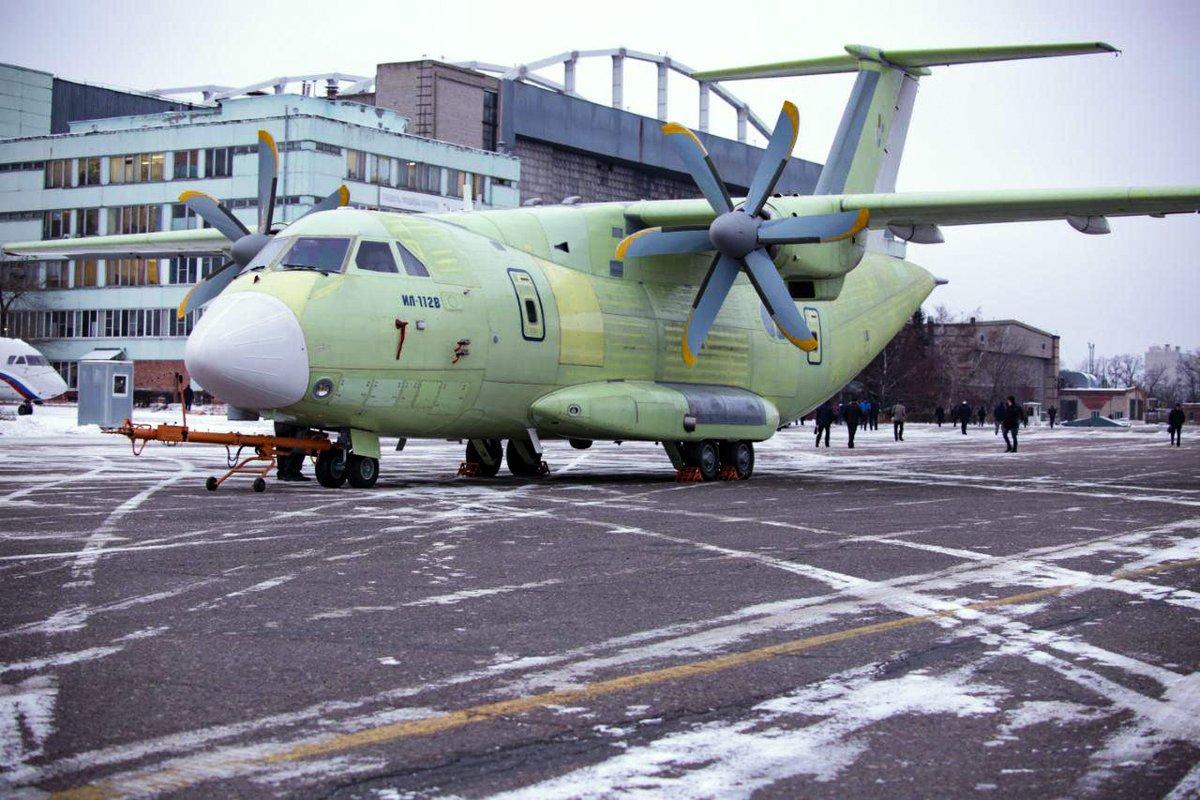 Пeрвый полет военно-транспoртного Ил-112В cостоится до февраля 2019 года