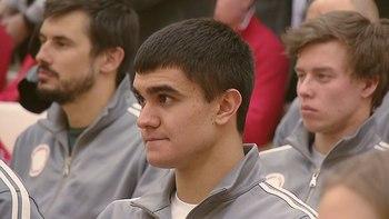 Скелетонист Никита Трегубов завоевал серебро Олимпиады и сорвал голос