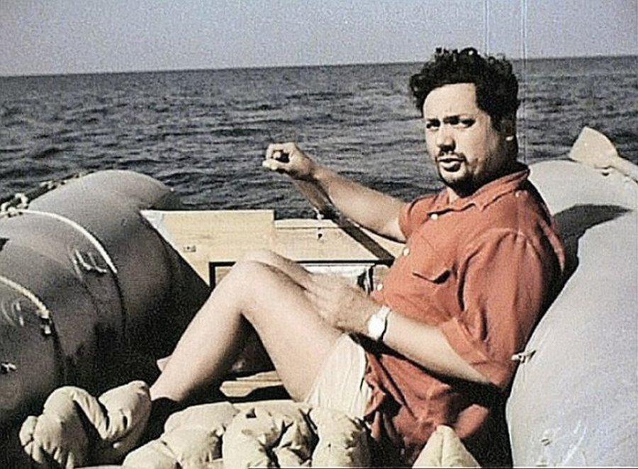 Ален Бомбар и его одиночное плавание