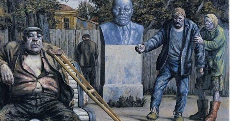 Струны русской души в остроактуальных картинах Василия Шульженко